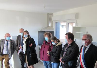 Inauguration logement Carentoir