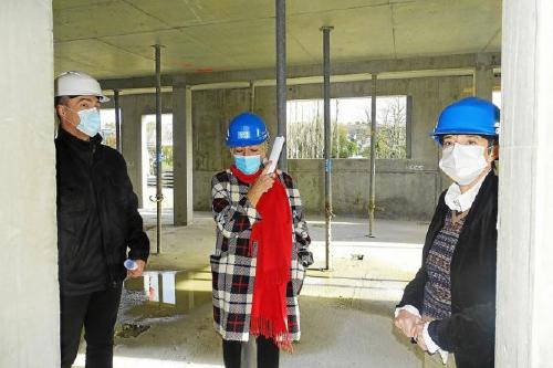 ESH Les Ajoncs Chantier de construction Inzinzac Lochrist