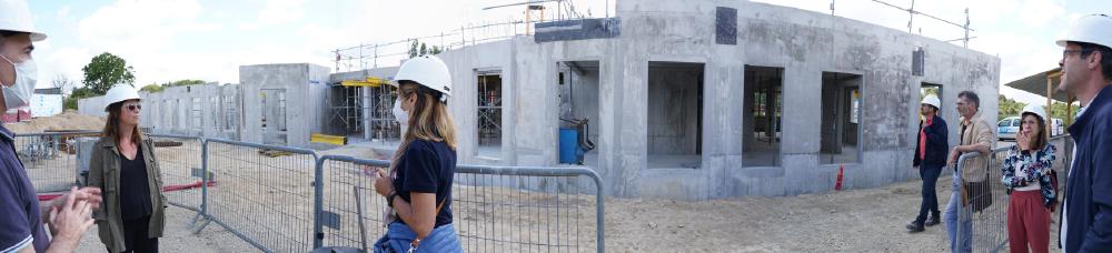 ESH - EHPAD en construction à Inzinzac
